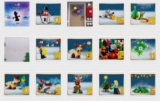 Lego Instagram Christmas Series