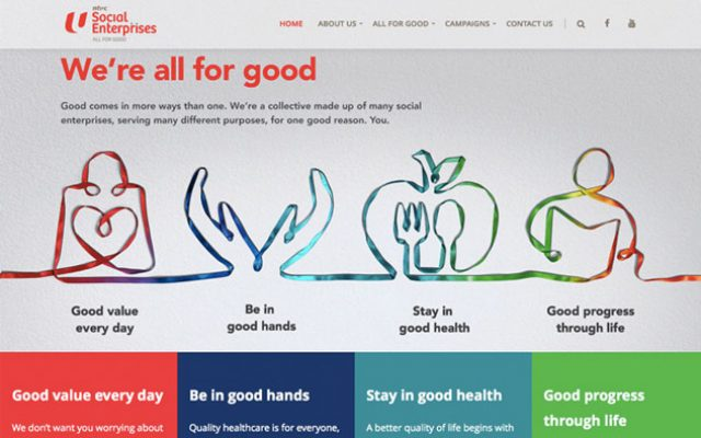 website agency Singapore - website campaigns - NTUC Social Enterprises Campaign - Hashmeta