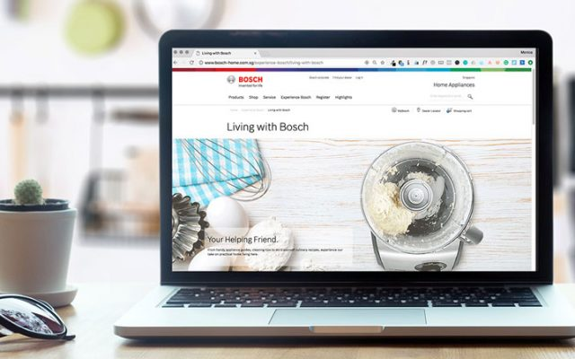content marketing campaigns - Living with Bosch - Hashmeta
