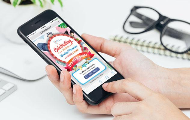 gamification agency Singapore - digital marketing campaigns - Plaza Singapura Spin & Win Campaign - Hashmeta