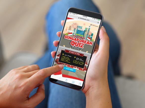 gamification marketing - gamification campaigns - NTUC LearningHub The Ultimate Singaporean Quiz - Hashmeta